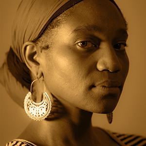 Headshot of artist Chotsani Elaine Dean