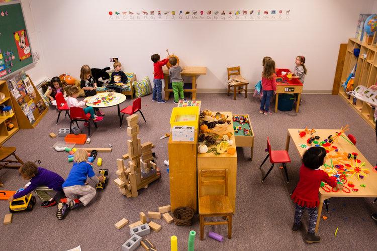 4 Corners Community Nursery classroom