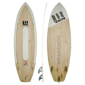 Imagen de producto tabla de kitesurf de madera wamaroo cabopino