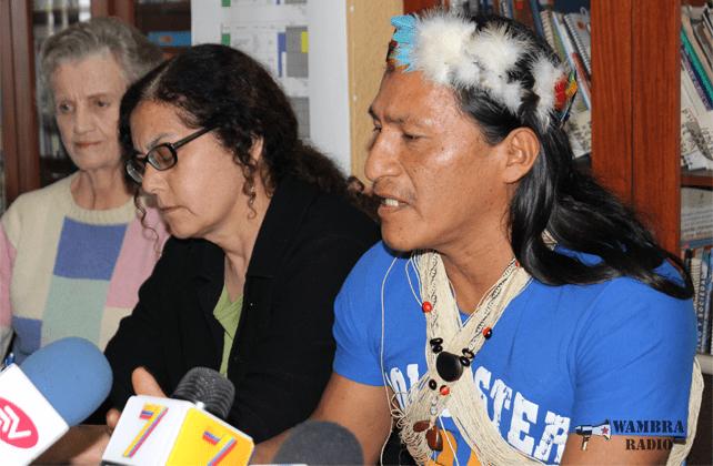 Indígenas Huaorani de OME YASUNÍ piden que se respete sus derechos humanos