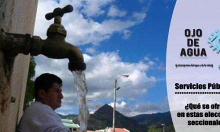 Servicios públicos: ¿qué se oferta en las elecciones seccionales en Ecuador?