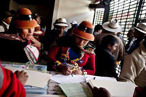 Encuentro Nacional: Por la Defensa de la #Pachamama – #Espinar #Cusco #Perú