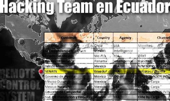 mapa hackinteam ecuador