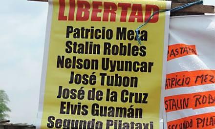 Tribunal de Pastaza condena a 6 meses de prisión a procesados de Levantamiento Nacional en Ecuador
