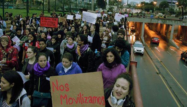 8 de marzo: las acciones y exigencias de mujeres en varias ciudades de Ecuador