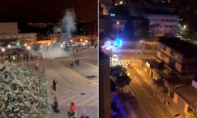 Policías disparan bombas lacrimógenas al interior de universidades