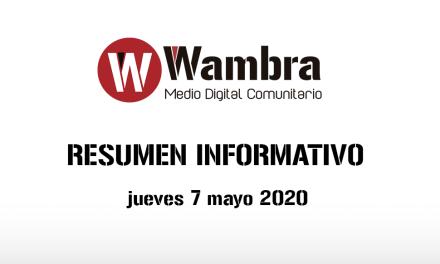 Corona Virus Ecuador – resumen jueves, 7 de mayo 2020