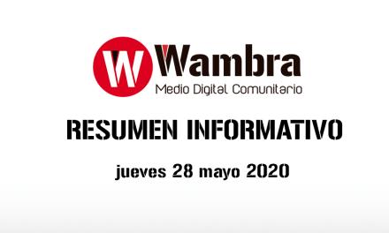 Corona Virus Ecuador – resumen 28 de mayo 2020