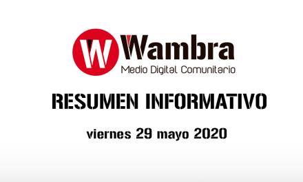 Corona Virus Ecuador – resumen 29 de mayo 2020