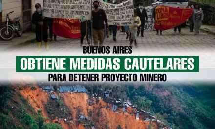 Buenos Aires obtiene medidas cautelares para detener proyecto minero