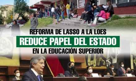 Proyecto de reformas a la Ley Orgánica de Educación Superior fue entregado por Guillermo Lasso a la Asamblea Nacional