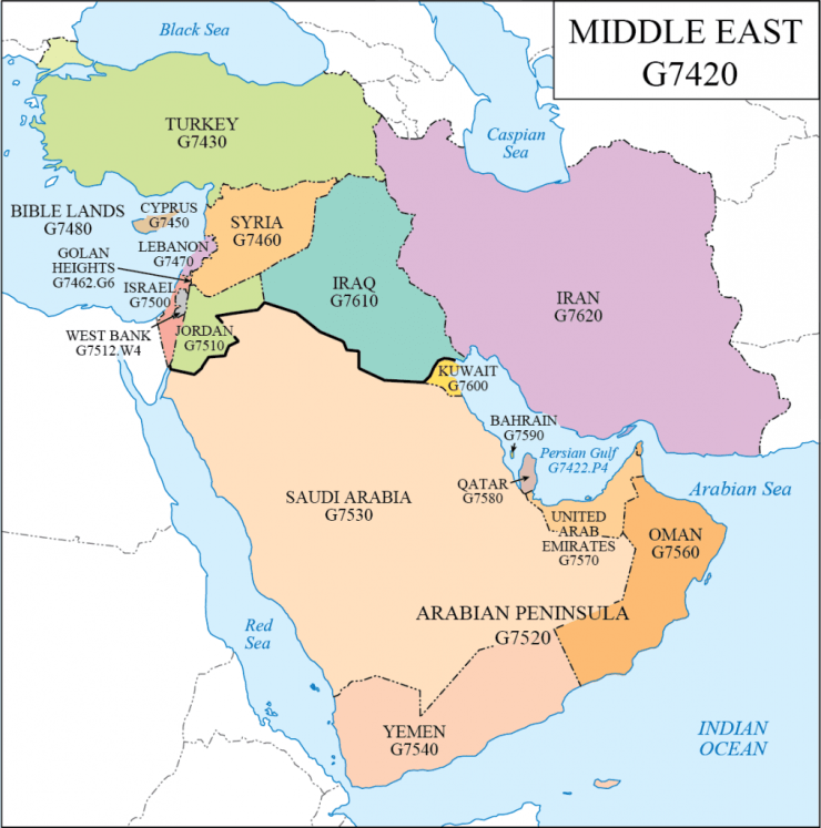 G Schedule 28 Middle East