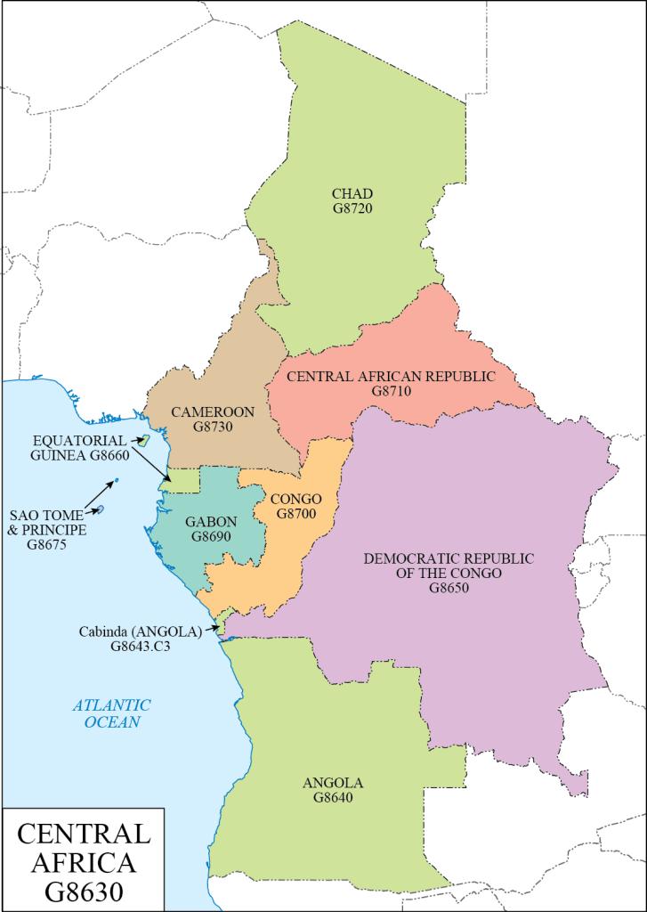 G schedule 37 Central Africa