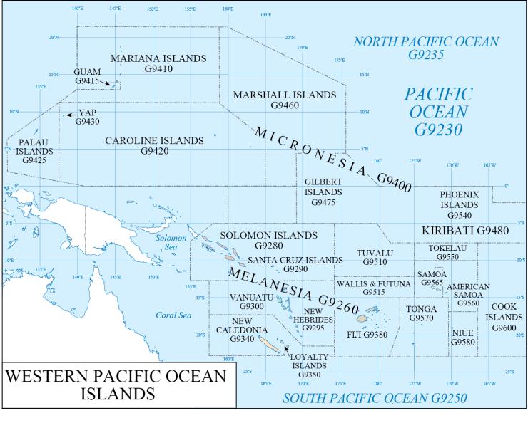 G schedule 42 Western Pacific
