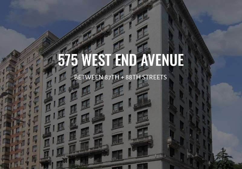 575 West End Avenue NYC