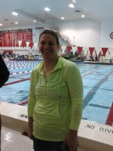 The ever-glowing Christina Ansell at 2015 NELMSC SCY Champs