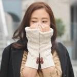 いらなくなったセーターの袖から作る、暖かアームウォーマ♡