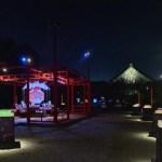 夜空の下で繰り広げられる豪華絢爛でスケールの大きい屋外展示に圧倒! アートアクアリウム城~京都・金魚の舞~