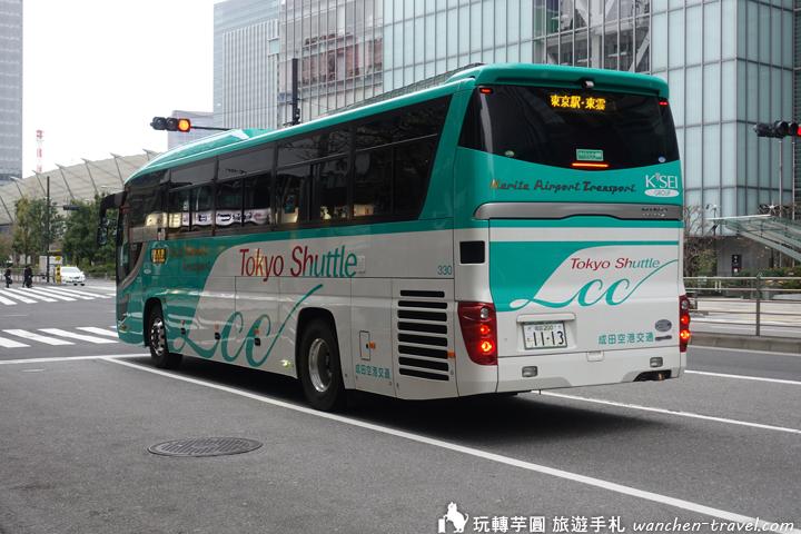 京成高速巴士 Tokyo Shuttle 成田機場往東京車站 搭乘心得分享