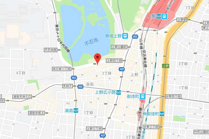 03-hotel-coco-grand-ueno-shinobazu-map