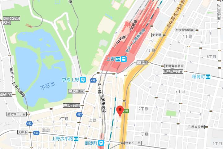 04-dormy-inn-ueno-map