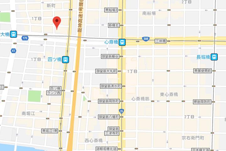 04-hearton-hotel-shinsaibashi-nagahoridori-map