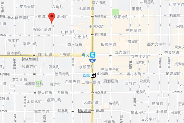 04-hotel-intergate-kyoto-shijoshinmachi-map