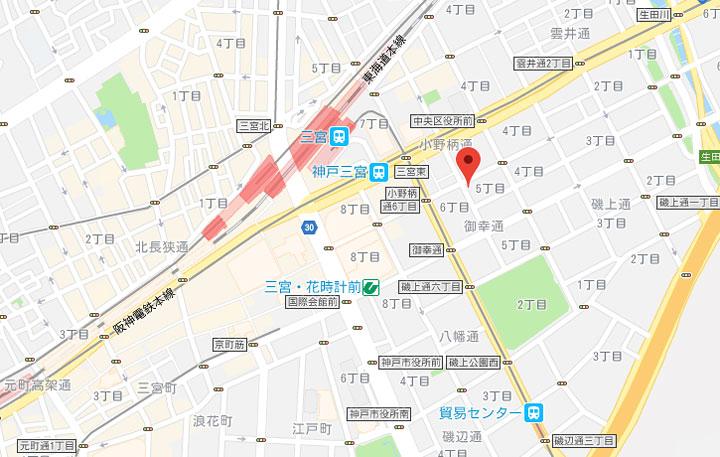 05-apa-hotel-kobe-sannomiya-map