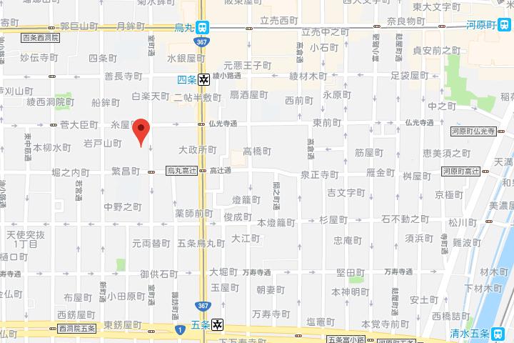 06-hotel-resol-kyoto-shijo-muromachi-map