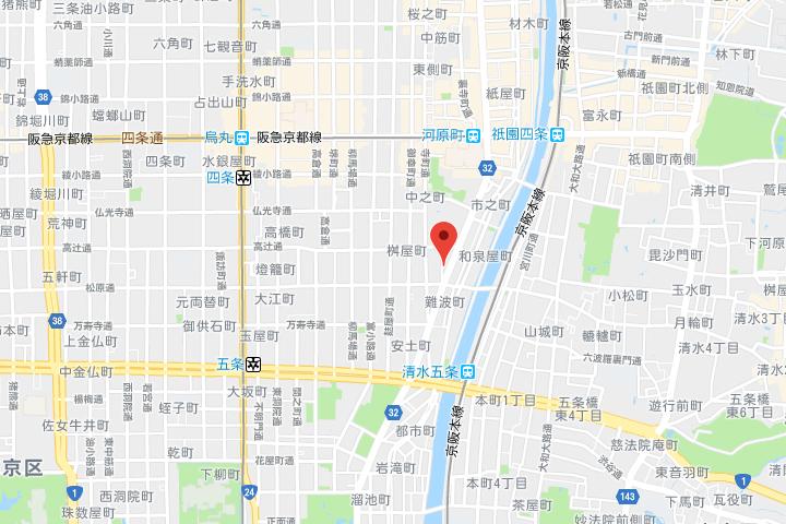 08-carta-hotel-kyoto-kawara-machi-map