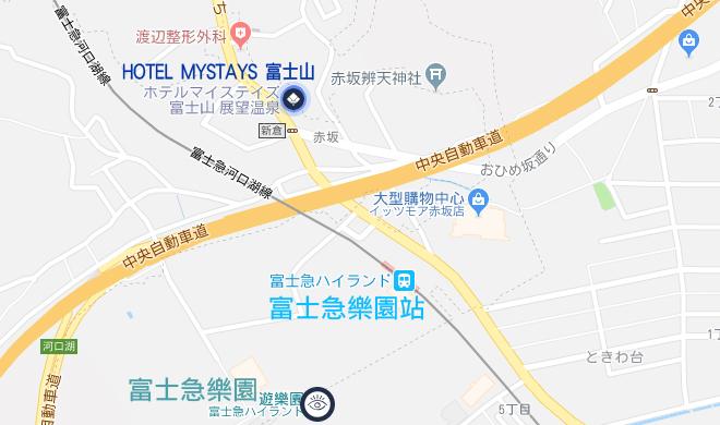 hotel-mystays-fuji-map