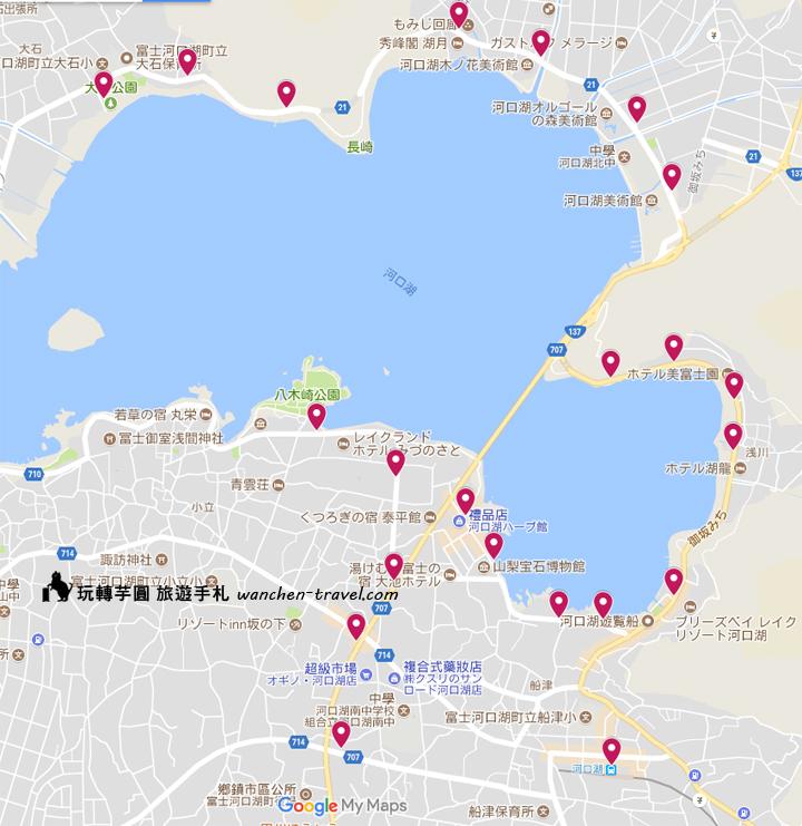 kawaguchiko-bus-redline