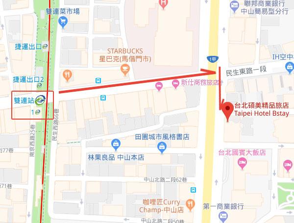 beauty-hotels-taipei-hotel-bstay-map
