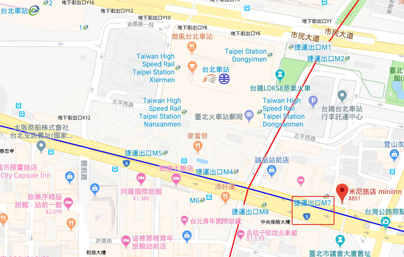 miniinn-map