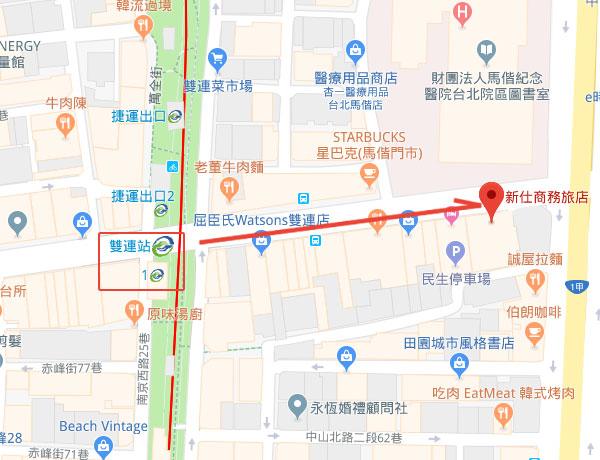 shin-shih-hotel-map
