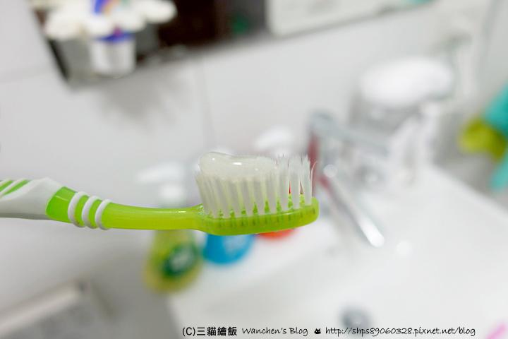 按壓式牙膏