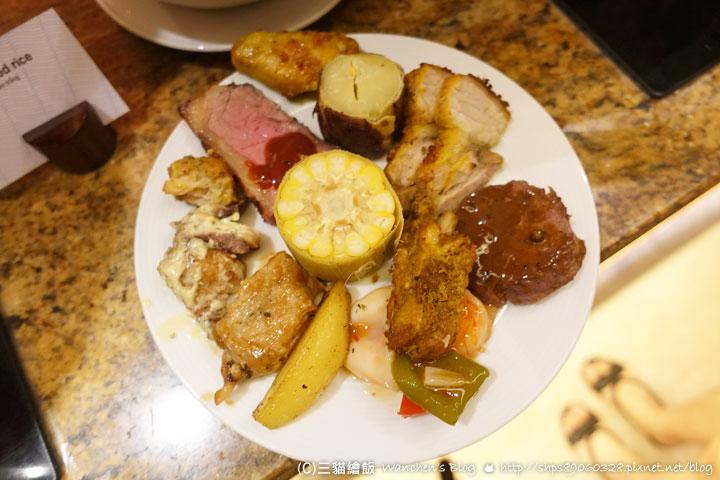 皇冠假日 飯店自助晚餐 Lackah