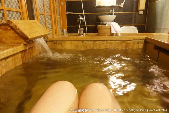明月溫泉 檜木風呂