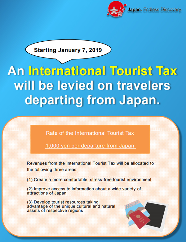japan tourist tax