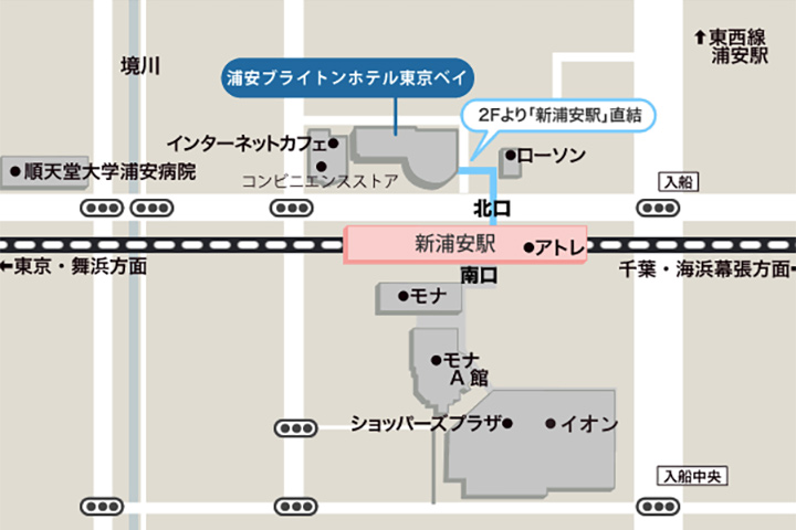 urayasu-brighton-hotel-tokyo-map
