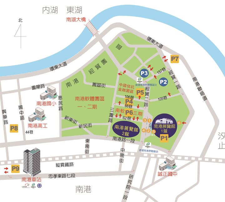 taipei-itf-map