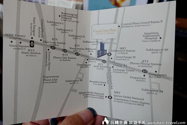grande-centre-point-hotel-terminal-21-map