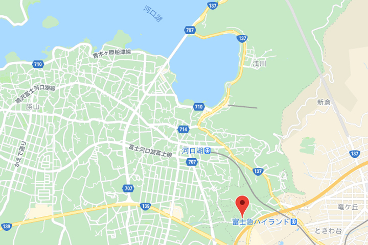 fujigran villa toki map