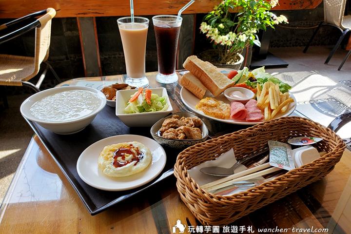 明月溫泉早餐