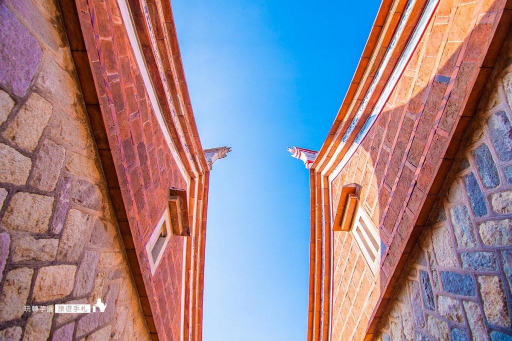 圖:山后民俗文化村閩南式建築 /攝影:玩轉芋圓旅遊手札
