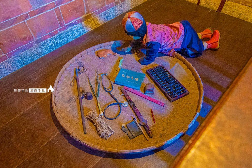 圖:山后民俗文化村室內一景 /攝影:玩轉芋圓旅遊手札