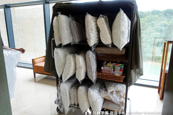 雲品溫泉酒店枕頭車