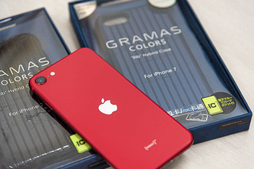 《日本東京Gramas》軍規防摔經典手機殼與iPhone SE2