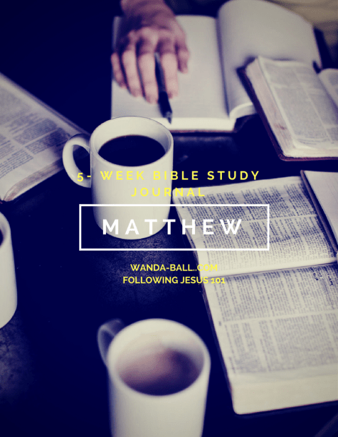 Matthew bible study journal pic