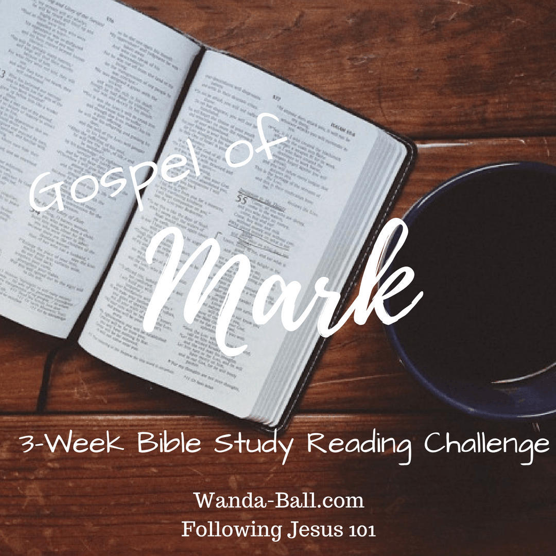 Following Jesus 101: Gospel of Mark - 3-Week Bible Study Reading Challenge